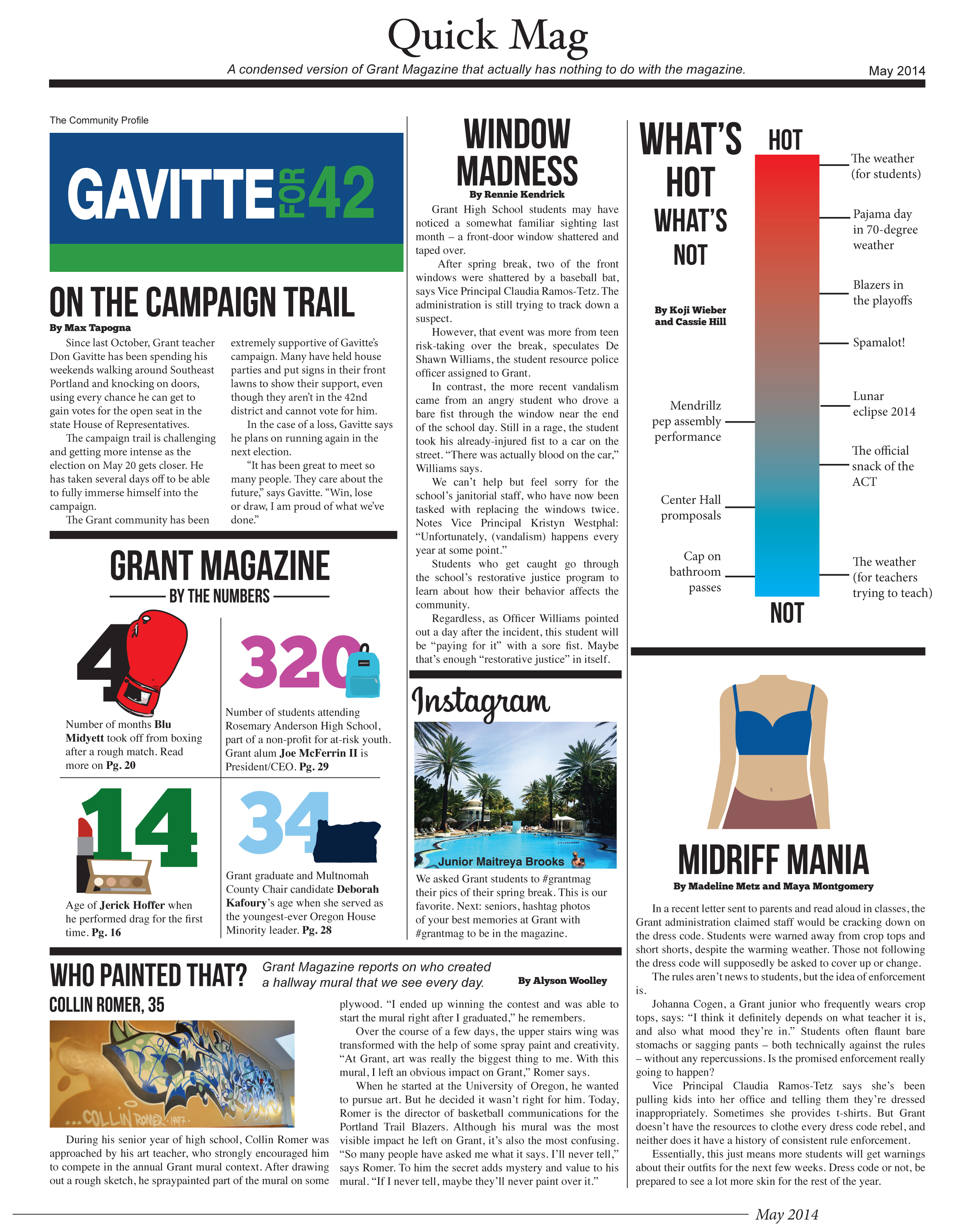 Kg 99 Magazines: Quick Mag May 2014