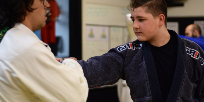 For freshman Hixon Dorsett, hardship is a familiar opponent. He trains in martial arts to stay centered.