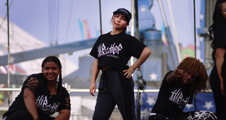 While the Japan earthquake  of 2011 forced change into her life, Tina Smillie says it has given her the opportunity to focus on her true interests, like dance.
